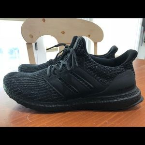 Adidas Ultraboost 4.0 Triple Black (Size 11.5)